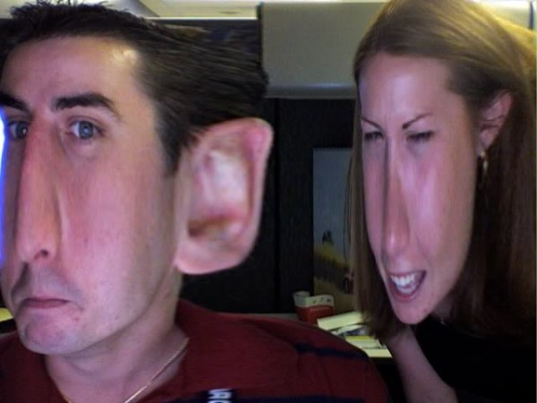 Crazy Stretched Faces