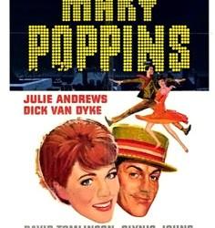 Mary Poppins Poster / Julie Andrews  Dick Van Dyke