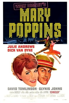 Mary Poppins Poster / Julie Andrews  Dick Van Dyke