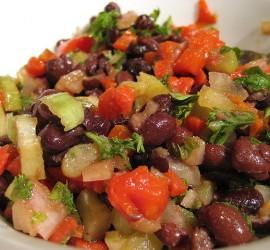 bean salad via flickr ucher is nof