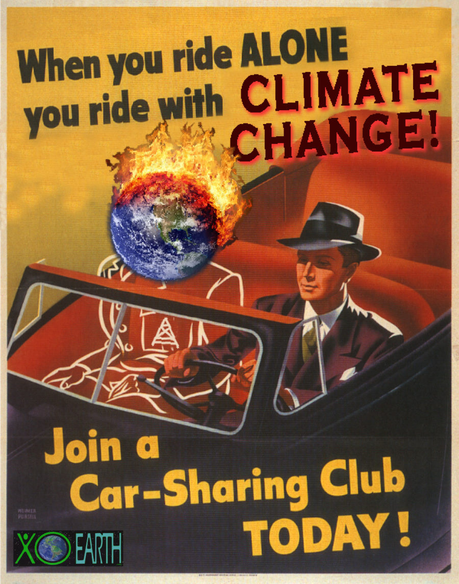 When You Ride Alone You Ride With Climate Change